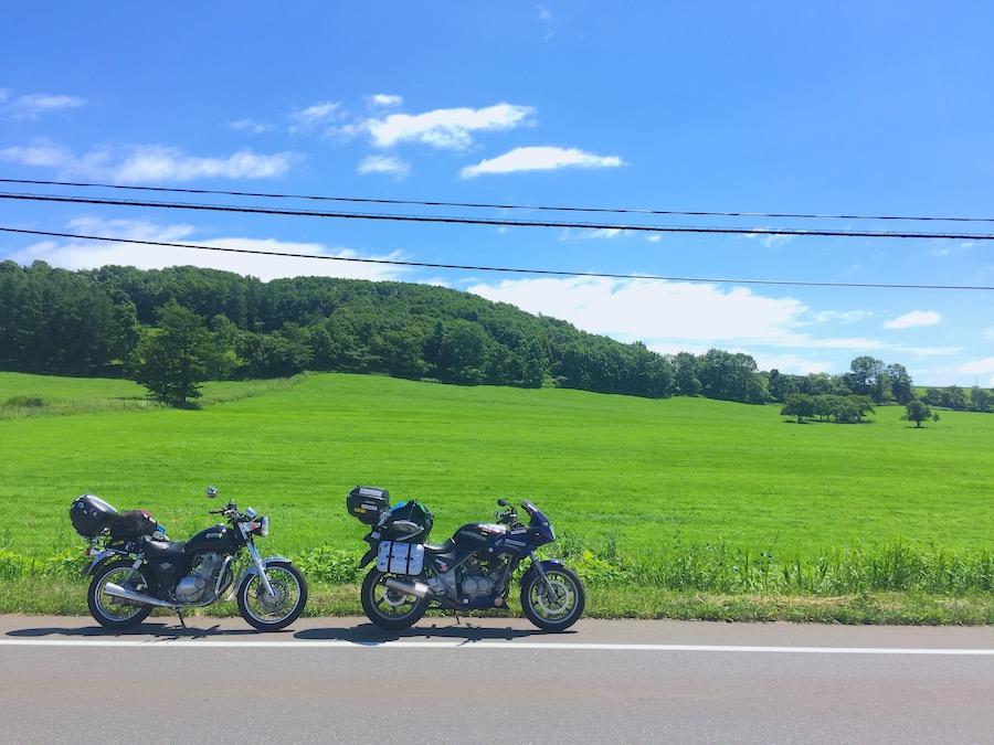 鶴居村への道